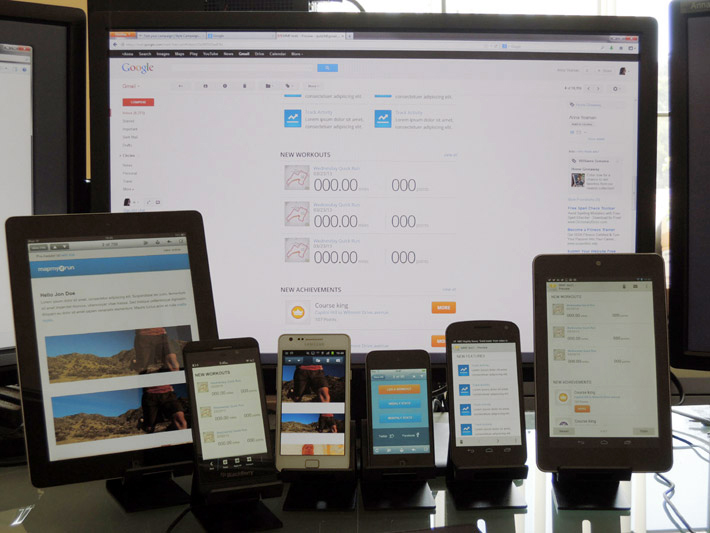 Responsive email testing