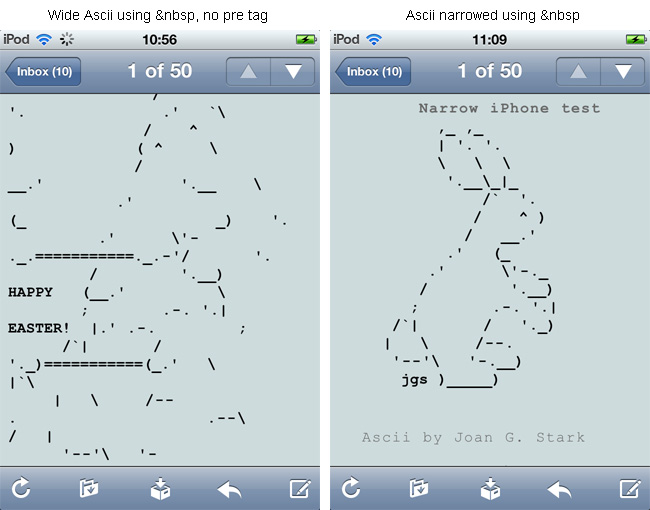 One Line Ascii Art Iphone : The gallery for gt iphone text art