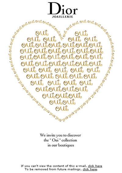 valentine email
