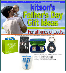 kitson Father's day email
