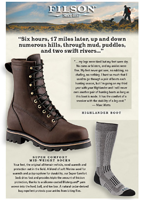 Filson email...too many images
