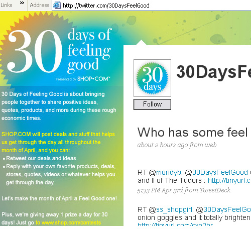 30 days of feeling good