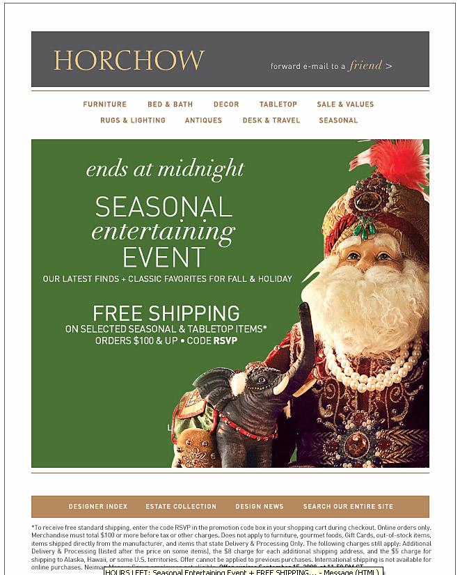 Horchow Online