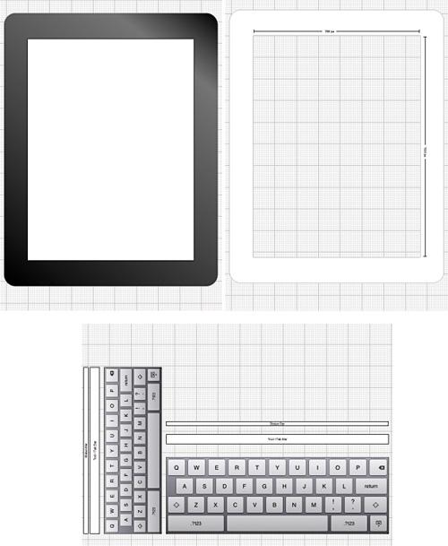 iPad stencils